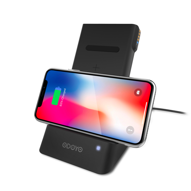 ODOYO XC25 Wireless Charging Dock and Portable Battery Pack